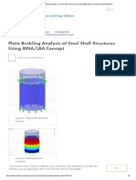 Plate Buckling Analysis of Steel Shell Structures Using MNA_LBA Concept _ Dlubal Software
