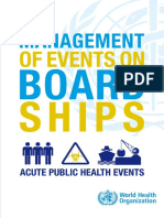Management of Event on Board Ship