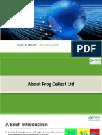 Frog Cellsat Presentation