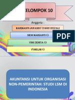 Akuntansi Untuk LSM