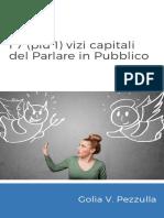 eBook I 7 1 Vizi Capitali Nel Parlare in Pubblico - Enjoy