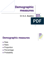 2. Basic Demographic Measures and Tools