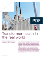 ABB Review Q3 2015 - Transformer Health in the Real World En