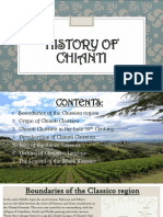 History of Chianti