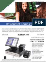 CompleteSystems Restaurant