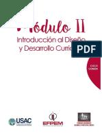 Módulo II  Diseño y Desarrollo