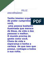 FELIS ANIVERSÁRIO