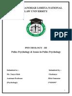 Psychology - III