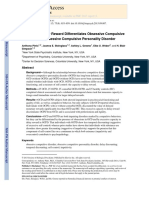 Capacity to delay reward OCD vs OCPD.pdf