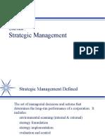 Strategik Manegement