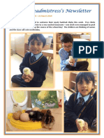 Newsletter No 70 - 22nd March 2019