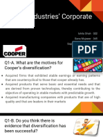 Cooper Industries' Corporate Strategy