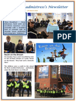 Newsletter No 71 - 29th March 2019
