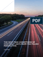 New FIDIC Contract Conditions 2017 Polish Perspective
