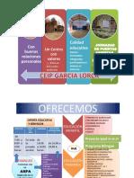 Oferta Educativa CEIP G Lorca