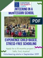 Montessori Call 20192020