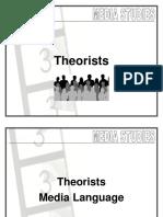 08 Media Studies - Theorists