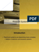 Unit 5 - Restraint Systems