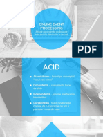 Online Event Processing