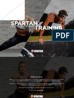 2018 Spartan Training Plan