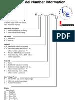 Series 93 Model Information