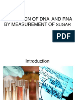 Estimation of DNA & RNA