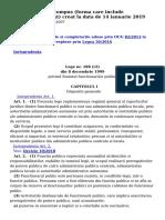 Lex - LEGE 188_1999 - Modificare 14 Ianuarie 2019
