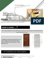 20594 Lecture-5 Doors