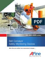 Belt Conveyor Safety Monitoring Devices Catalog