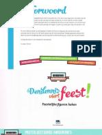 Libro amigurumi Den Dennis Viert Feest