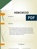 New Hemoroid