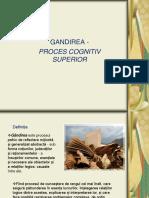 Psihologie - Gandire A