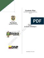 Acuerdo Estrategico Con Componente Programatico Boyaca CONTRATO PLAN
