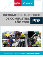 Informe Combustibles 2018