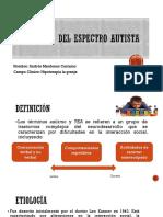 Trastorno Del Espectro Autista Presentacion