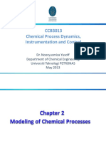 chemical process dynamics, instrumentation and control