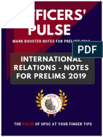 International Relations - Notes for Prelims 2019.pdf