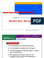 ad layout