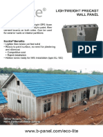 Highly insulated panels