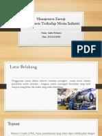10.Ppt Manajemen Energi (Nizia)