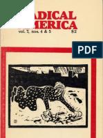 Radical America - Vol 7 No 4&5 - 1973 - July October