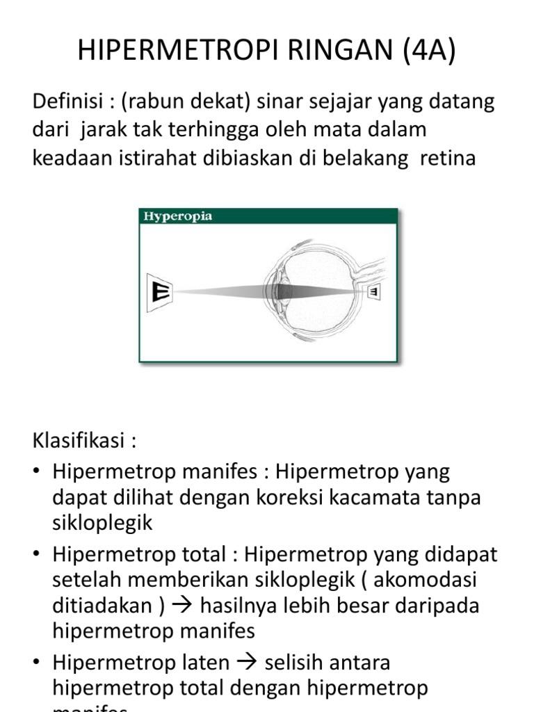hipermetropie 4 5 punct de vedere medical seric