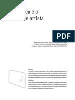 A crítica e o livro de artista