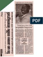 Ormai non ci sono fondi per garantire l'integrazione e Stranieri Aumento_Coririere Di Rieti Il 24 Ottobre 2010001