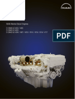 Sm-man Marine Diesel Engine d2848 d2840 d2842 Service Repair