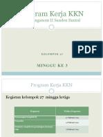 PPT Program Kerja KKN 27 mingggu 3.pptx