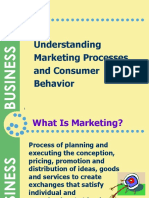 1. Understanding Marketing Processes and Consumer Behavior (1)