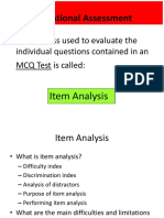 Topic 9 Testing item analysis.pptx