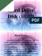 Hard Drive Disk Ppt