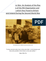 Dissertation - IRA in Britain and Ireland WW2